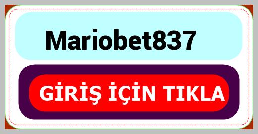 Mariobet837
